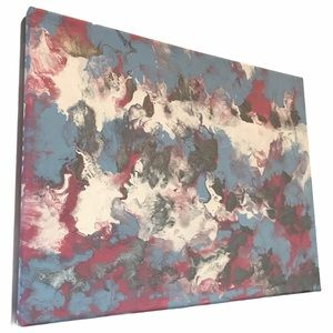 12 x 16 original abstract artwork signed by artist